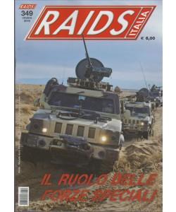 """Raids Italia - Mensile n. 349 Ottobre 2016 """"il ruolo delle forze speciali"""""""