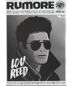 "Rumore - mensile n. 298 Novembre 2016 "" LOV REED"""