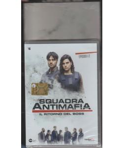 """DVD Squadra Antimafia """"il ritorno del BOSS"""" 1 e 2 episodio + cofanetto"""