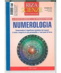 RIZA Scienze - mensile n. 343 Dicembre 2016