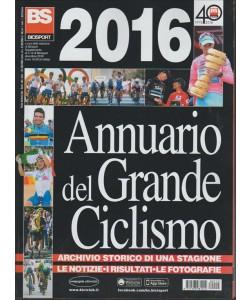 ANNUARIO DEL GRANDE CICLISMO 2016 . SUPPLEMENTO AL N. 12 DI BICISPORT DICEMBRE 2016.
