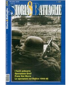 Storia & Battaglie mensile n. 174 Dicembre 2016