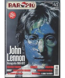 Raropiu' - mensile n. 41 Dicembre 2016 - John Lennon