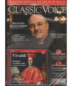 Classic Voice Mensile 211 Dicembre 2016 + CD Vivaldi Suonate a violino solo