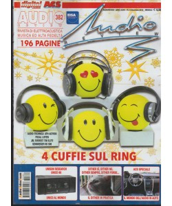 "Audio Review mensile 382 Dicembre 2016 ""4 cuffie sul Ring"""
