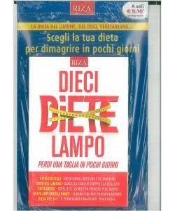 """Dieci Diete Lampo by RIZA """"Perdi una taglia in pochi giorni"""