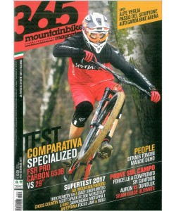 365 Mountain Bike - mensile n. 60  Gennaio 2017