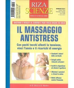 Riza Scienze - mensile n. 344 Gennaio 2017 - Massaggio Antistress