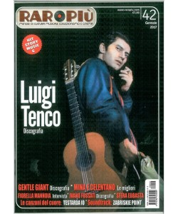 RARO più - Mensile n. 42 Gennaio 2017 - Luigi Tenco Discografia