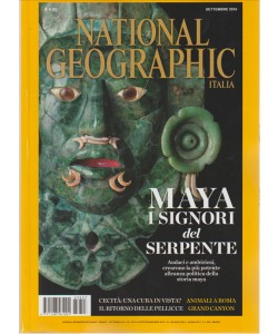 NATIONAL GEOGRAPHIC. N. 3. SETTEMBRE 2016.  MENSILE.