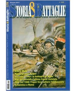 Storia & Battaglie - mensile n. 175 Gennaio 2017