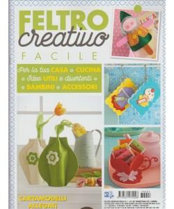 Feltro Creativo Facile - Trimestrale n. 1 Gennaio 2017