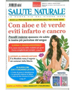 Salute Naturale RIZA - mensile n. 214 Febbraio 2017