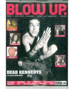 "BLOW UP. mensile n. 225 Febbraio 2017 ""Dead Kennedys """