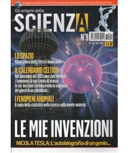 """gli Enigmi della Scienza - bimestrale n. 9 Giugno 2017 """"Nicola Tesla"""