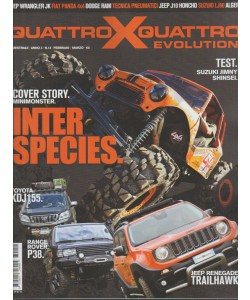 Quattro X Quattro evolution - Bimestrale n. 12 Febbraio 2017