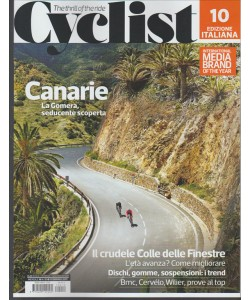 CYCLIST edizione Italiana - Mensile n. 10 Febbraio 2017