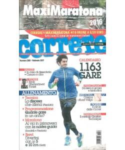 Correre mensile n. 388 Febbraio 2017 + Maxi Maratona 2016