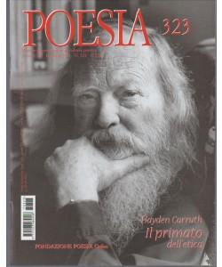 POESIA mensile n. 323 Febbraio 2017