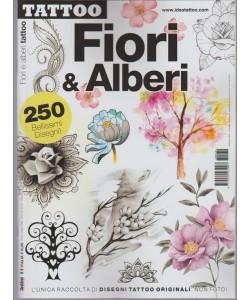 Tattoo Disegni  trimestrale n. 30 Febbraio 2017 - Fiori & Alberi