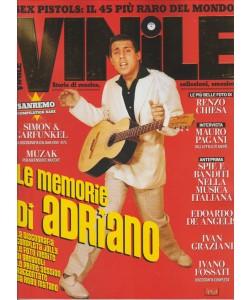 """VINILE- bimestrale n.6 Febbraio 2017 """"Le memorie di Adriano"""""""