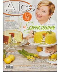 """ALICE Cucina - mensile n. 3 Marzo 2017 """"Le sofficissime"""""""