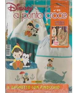Disney Punto Croce - Trimestrale n. 92 Febbraio 2017