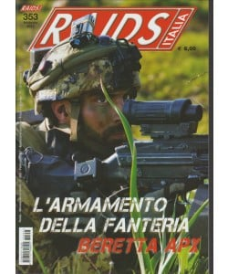 Raids ITALIA - mensile n. 353 Febbraio 2017