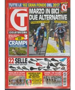 Cicloturismo - mensile n. 348 Marzo 2017 + Super Carnet cicloturismo
