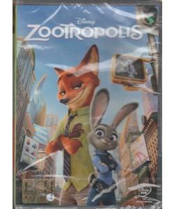 DVD - Zootropolis - Regista: Jared Bush, Byron Howard, Rich Moore