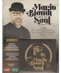 Doppio CD Mario Biondi Best of soul - by Sorrisi e canzoni TV