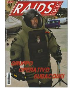 RAIDS Italia - mensile n. 354 Marzo 2017