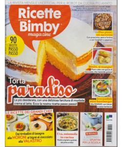RICETTE  PER IL MIO BIMBY MAGAZINE.  N. 10. SETTEMBRE 2016.