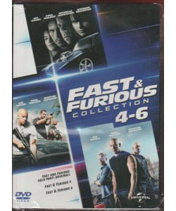DVD - Fast & Furious Collection: 4 - 6