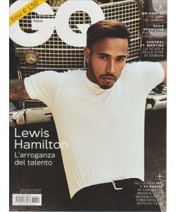 "GQ (gentlman's quarterly) italia - mensile n. 209 Aprile 2017 ""Lewis Hamilton"""