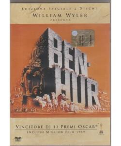 WILLIAM WYLER PRESENTA BEN HUR. VINCITORE DI 11 PREMI OSCAR. INCLUSO MIGLIOR FILM 1959. DVD PANORAMA.
