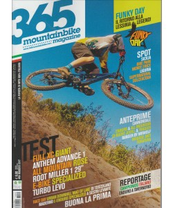 365 Mountain Bike Magazine - Mensile n. 64 Maggio 2017