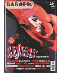 "RARO PIU' - mensile n. 46 Maggio 2017 ""GENESIS Discografia 1968-1973"""