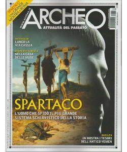 "Archeo - mensile n. 387 Maggio 2017 ""Spartaco"""