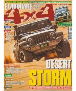 "Elaborare 4X4 - bimestrale n. 55 Maggo 2017 ""Dsert Storm"""