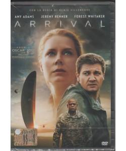 DVD - ARRIVAL - regia Denis Villeneuve
