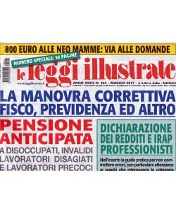 """le Leggi Illustrate - mensile n. 423 - Maggio 2017 """"800 euro alle neo mamme"""""""