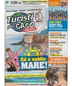 """Turisti per Caso magazine - Mensile n. 6 (110) giugno 2017 """"New York"""""""
