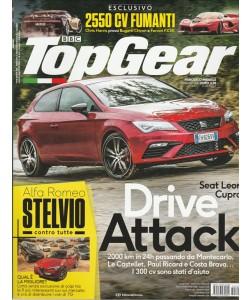 "Top Gear - mensile 115 Giugno 2017 ""2550 CV Fumanti"