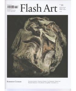Flash Art ed.italiana - bimestrale n. 333 Maggio 2017 - Roberto Cuoghi