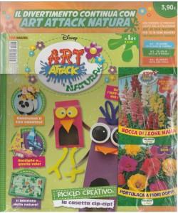 Disney: Art Attack natura - mensile 1 di 4 - maggio 2017