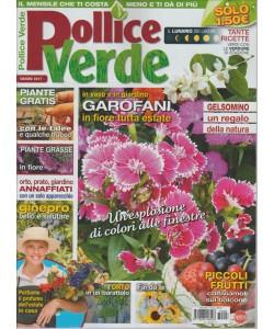 """Pollice Verde - mensile n. 98 Giugno 2017 """"Garofani"""""""