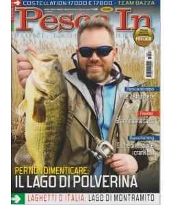 """Pesca In - mensile n. 6 Giugno 2017 """"Lago di Polverina"""""""
