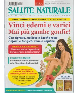 """Salute Naturale RIZA - mensile n. 218 Giugno 2017 """"Edemi e varici"""""""