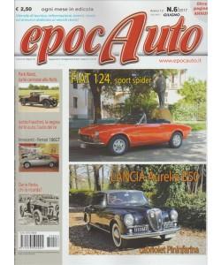 Epocauto - mensile n. 6 Giugno 2017 - Fiat 124 sport spider